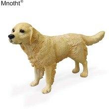 Mnotht 1/6 JGolden Retriever Dog Modell Stående hållning Hund Mini Toy Scene Accessory Decoration for Action Figur Collection