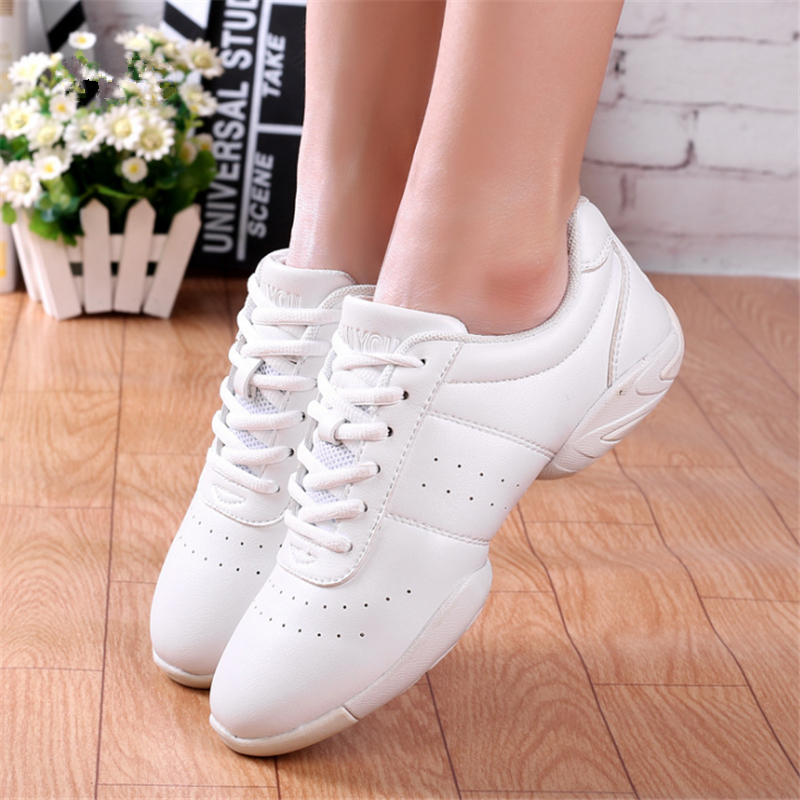 Women Breathable Dance Shoes Comfortable Soft Bottom Fitness Shoes Men Jazz Shoes Girl Professional Training Sneakers Child