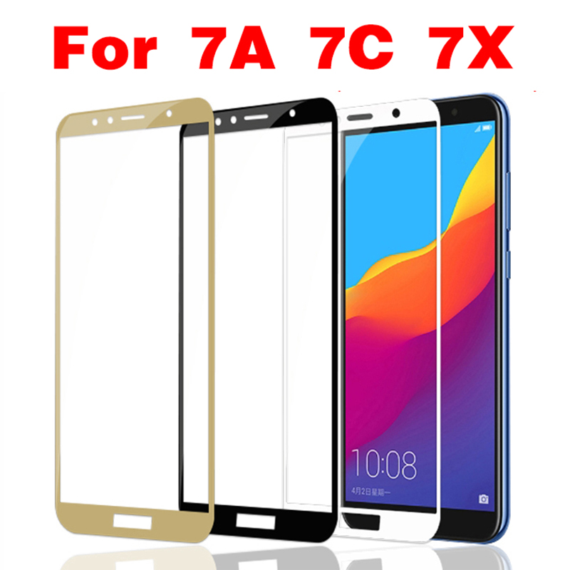 Protective Glass On Honor 7A Tempered Glass For Huawei Honor 7A Pro 7C 7X Honer A7 Honor7a Dua-L22 Films Safety Screen Protector