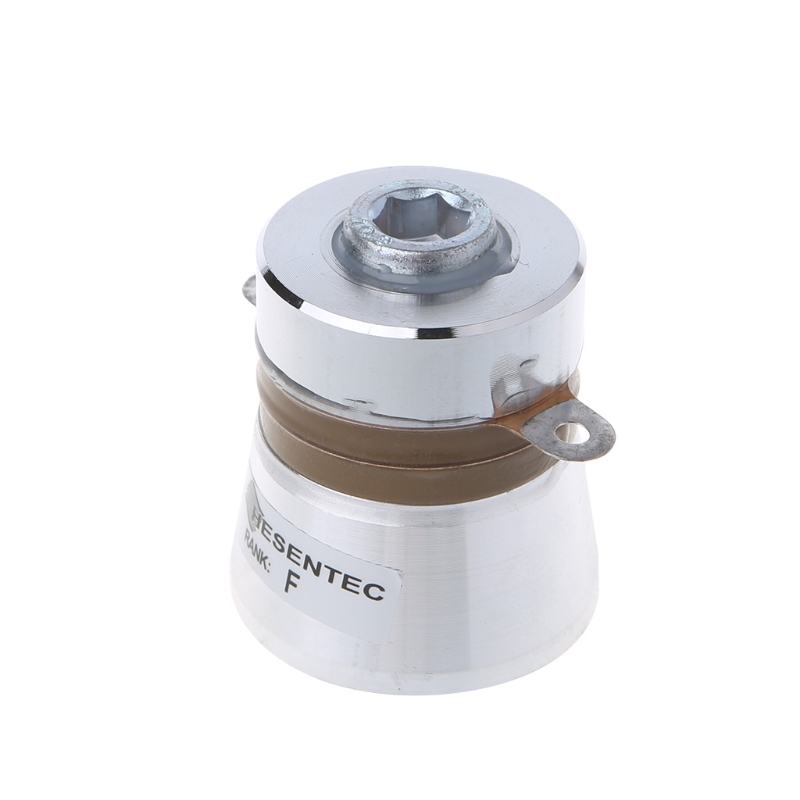 60W 40KHz Ultrasonic Piezoelectric Cleaning Transducer Cleaner High Conversion 1pcs 60w 40khz high conversion efficiency ultrasonic piezoelectric transducer cleaner 38x45x48mm