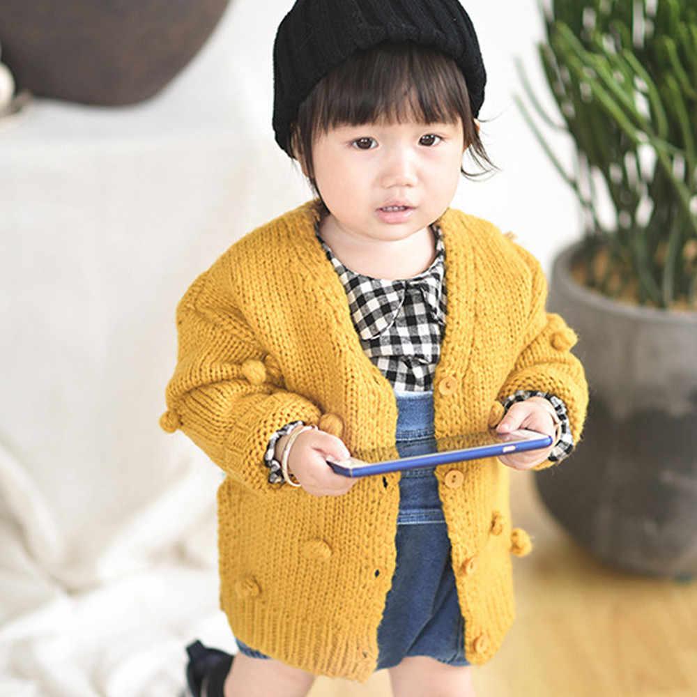 От 1 до 3 лет для маленьких девочек свитер ребенок 17 зима мяч в руку подпушка куртка девочек # YL5