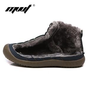 Image 3 - Super Warm Winter Men Boots Waterproof Super Quality Snow Boots Men Warm Winter Shoes Mens Ankle Boots Fur Botas Hombre
