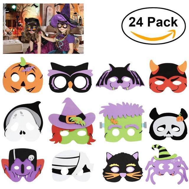 Fantastisch Kinder Halloween Masken Galerie - Ideen färben ...