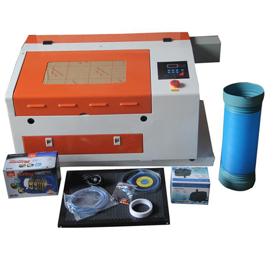 50W CO2 Laser Engraving Machine TS4030 With Coreldraw/Corellaser Software/Imported Focus Lens
