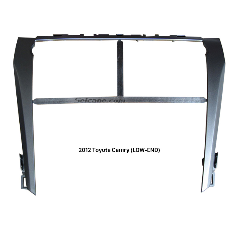 Seicane серебро Цвет Автомагнитола DVD стерео плеер Фризовая рамка для Toyota Camry (LOW-END) тире CD Обрезать Установка
