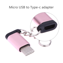 Metal USB 3.1 Type-C Male Connector to Micro USB 2.0 5Pin Female Data Adapter Converter USB Type C Adapter For tablet/phone