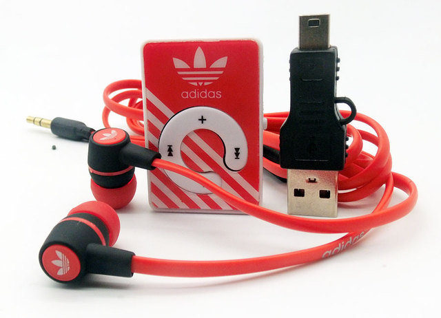 2016 new High Quality Mini Clip Sports MP3 Music Players Support TF Card With Earphone  Mini USB