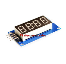 5 pcs 4 Bits Digital Tube LED Display Module With Clock Display TM1637 for Arduino Raspberry PI