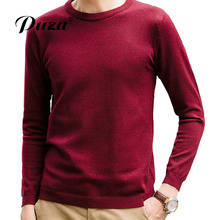2017Nieuwkomers Herfst Winter Warme O-hals Sweaters Truien Casual Slim Fit Trui Mannen Merk-Kleding Pullovers Man Clothes M-5XL