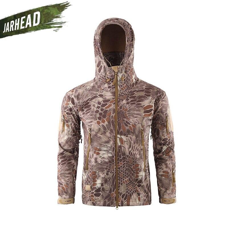 hombres Lurker Soft al tiburón Shell chaqueta Alta calidad Camo piel WpgY5wW8qx