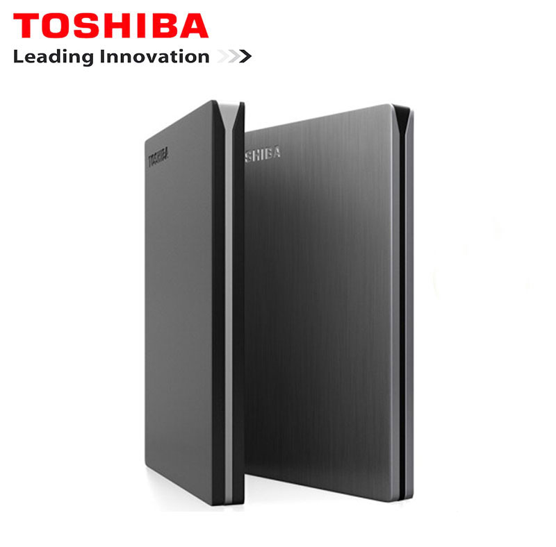 Toshiba Canvio Slim External Hard Drive 1 TB HD Externo hdd 1 TB  Hard Disk Portable HDD 2.5 usb 3.0 Harici Hard Disk Disco Duro new neso 500g portable hard disk 2 5 hdd usb2 0 stainless steel design external hard drive hot selling