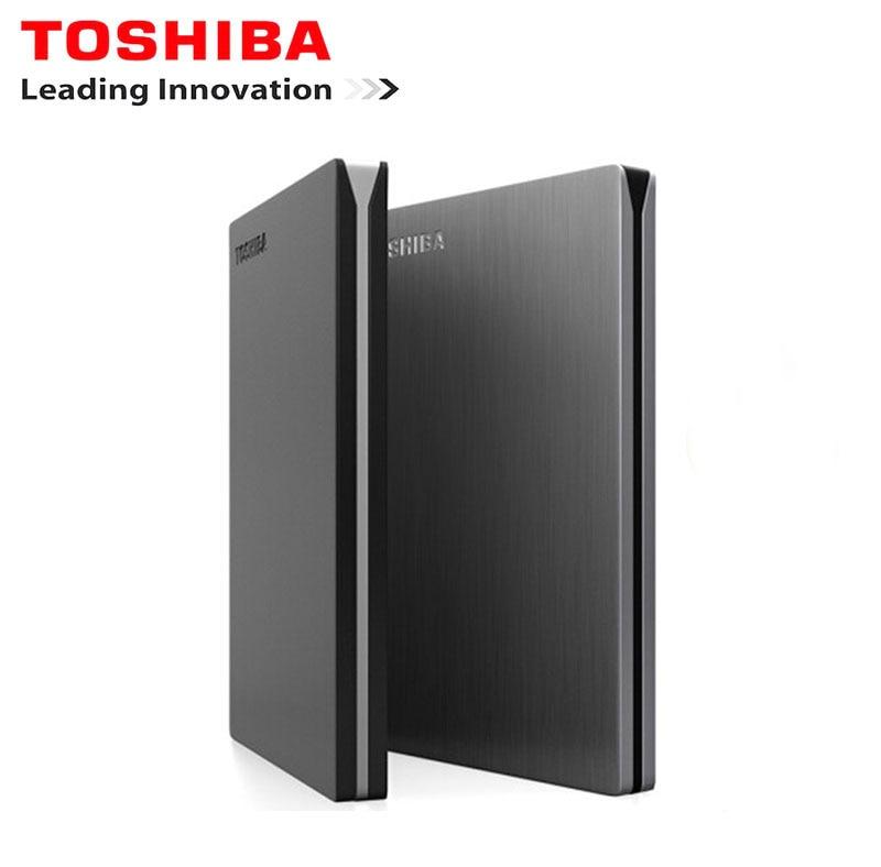 Toshiba Canvio Slim External Hard Drive 1 TB HD Externo hdd 1 TB  Hard Disk Portable HDD 2.5 usb 3.0 Harici Hard Disk Disco Duro корпус для hdd orico 9528u3 2 3 5 ii iii hdd hd 20 usb3 0 5