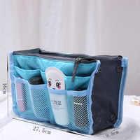 Saco de cosméticos mais novo multi-função receber necessáries para multicamadas maquiagem pochette cosméticos maquiagem bolsa organizador sacos