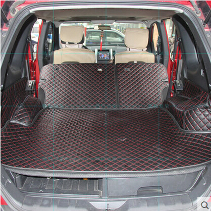 High quality Good quality Special trunk mats for Nissan X trail T31 5seats 2013 2007 waterproof boot carpets for XTRAIL 2011