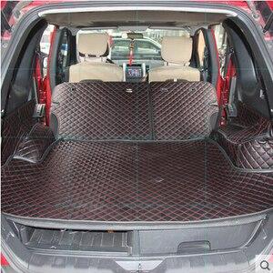 Image 1 - Hoge kwaliteit Goede kwaliteit Speciale kofferbak matten voor Nissan X trail T31 5 zetels 2013 2007 waterdichte laars tapijten voor XTRAIL 2011