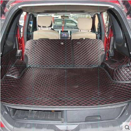 Hoge kwaliteit Goede kwaliteit Speciale kofferbak matten voor Nissan X trail T31 5 zetels 2013 2007 waterdichte laars tapijten voor XTRAIL 2011