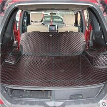 Wysokiej jakości dobrej jakości specjalny bagażnik maty dla Nissan x trail T31 5 miejsc 2013 2007 wodoodporne dywaniki samochodowe dla XTRAIL 2011