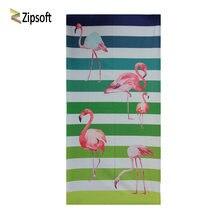 Zipsoft пляжное полотенце с принтом Фламинго 75x150 см Большой