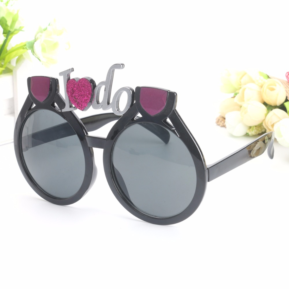 Beautiful Loving I Do Bride Costume Rings Glasses Wedding Events ...