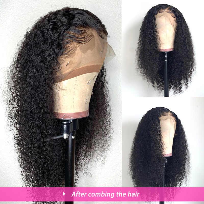 Rucycat 360 perucas frontais do laço para as mulheres negras malaio cabelo humano peruca dianteira do laço onda profunda pré-arrancado com cabelo do bebê