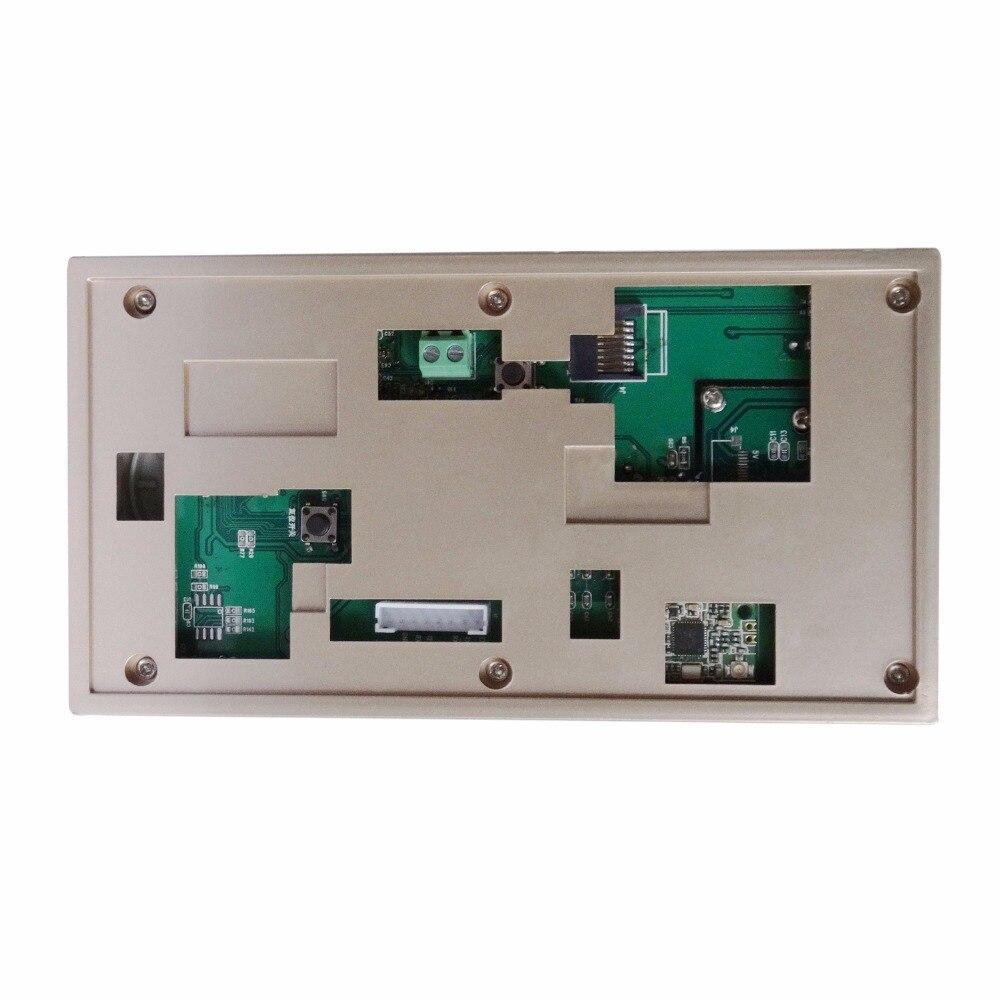 Купить с кэшбэком Wireless WiFi Smart Doorbell with PIR Alarm for Real-time Video & Call, Unlock, Photograph, Videotape by Mobile APP & Tablet PC