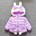 Baby Puffer Jacket Infant Girls Outerwear Warm Newborn Clothes Manteau Fille Hiver Children's Winter Jacket Girls Coat 60Z049