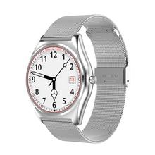 Смарт-часы N3 с сердечного ритма Мониторы Bluetooth Smart часы Беспроводной зарядки Поддержка напоминание Фитнес SmartWatch PW42