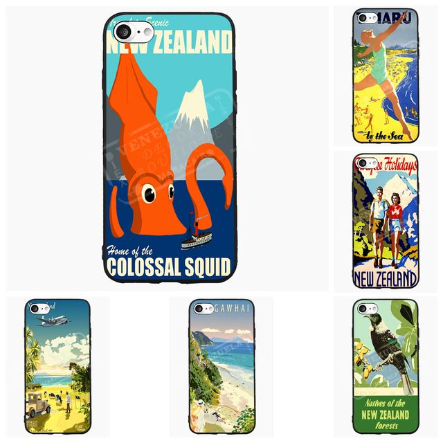 new arrival 3f9bb 6ee78 US $4.98  Colossal Squid Fishing New Zealand NZ Cell Phone Case For iPhone  6 7 s Plus For Samsung Galaxy S J A Mi5 P8 9 Lite Cover Shell on ...