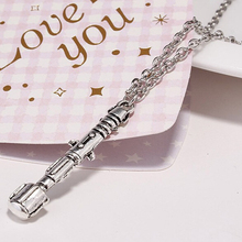 New Arrive TARDIS Sonic Screwdriver Universal Pendant Necklace Long Necklaces For Men Chain Length 60 Cm(China)