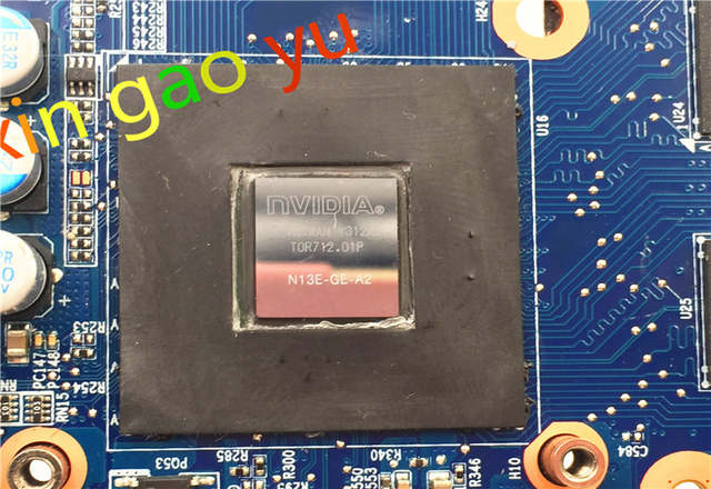 US $252 0 |6 71 w3700 d04 FOR Hasee FOR Raytheon FOR CLEVO w350ET Laptop  Motherboard 6 77 W35E0 D04 motherboard N13E GE A2-in Laptop Motherboard  from