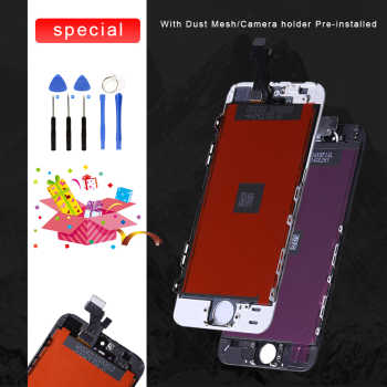 AAA Quality For iPhone 5 5s 6 6s 7 8 Plus 6Plus LCD Touch Screen Assembly Replacement Parts 100% New Panel Display Screen+Tools