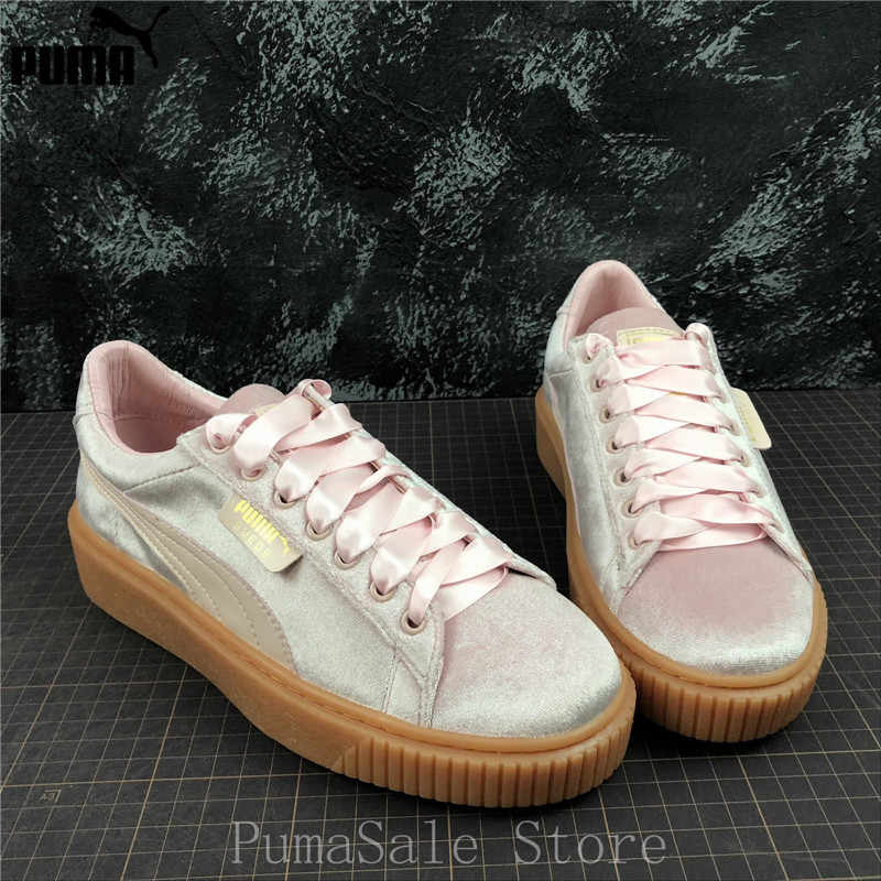 4644120f8f Detail Feedback Questions about Puma Basket Platform Rainbow Women's ...