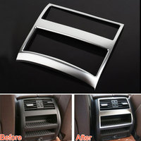 ABS Armrest Box Rear Air Vent Outlet Cover Trim Frame Decoration Fit For BMW 2011 2015 5 Series F10 520 525 Car Styling Covers