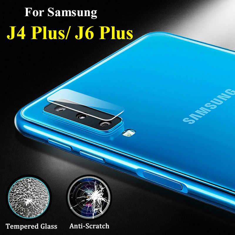 カメラレンズフィルム保護ガラスサムスン J4 プラス銀河 J6 J 4 6 安全 J4plus J6plus 4J 強化スクリーンプロテクター