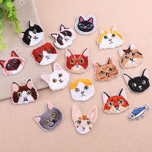 3D Lifelike Animal T shirt baby Embroidery Patches Patchwork Iron on Patches for Clothing Appliques badges Stripes stickers(China)