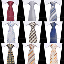 2018 new classic plaid mens luxury silk men ties checked formal business wedding british cravatte seta 8 cm necktie
