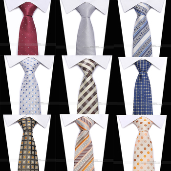 New classic plaid mens luxury silk men ties checked formal business wedding british cravatte seta 8 cm necktie