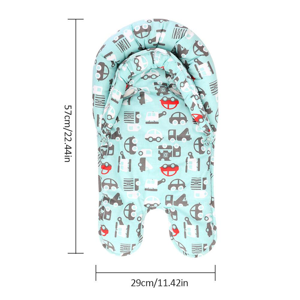 Baby Stroller Cushion Pad Newborn Car Seat Pad Pram Carriage Pushchair Liner High Chair Mat Bedding Mattress Neck Protection in Strollers Accessories from Mother Kids