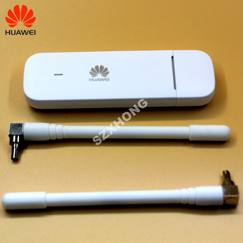 Original Hot Selling Huawei E3372 4G USB Stick E3372h-607 150Mbps 4G LTE USB Dongle Datacard With CRC9 Antenna