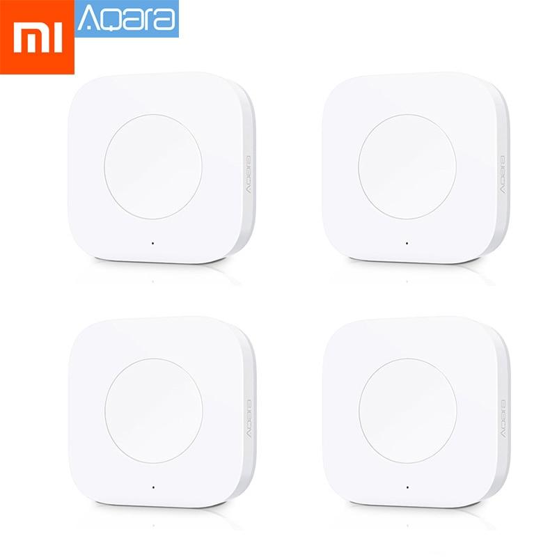 Xiaomi Aqara Smart Wireless Switch Key Intelligent Application Remote Control ZigBee Wireless Biult in Gyro for mi home App