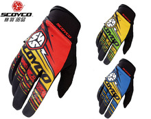 men's SCOYCO MX51 motorcycle gloves Women's motorbike bicycle glove motorcyclist biker cycling mittens M L XL XXL