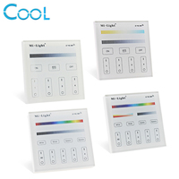 Mi Light Smart Touch Panel Controller T1 T2 T3 T4 B1 B2 B3 B4 Single Color
