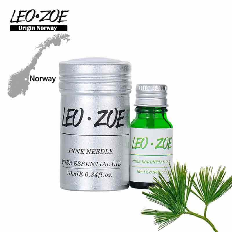 Pine Needle Essential Oil Famous Brand LEOZOE Certificate Of Origin Norway Authentication Aromatherapy Pine Needle Oil 10ML