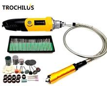 Trochilus Dremel mini szlifierka 400 W grawer wielofunkcyjne elektryczne szlifierka kątowa zestawy DIY kreatywny wiertła szlifierki