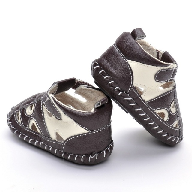 73147ea33 Cute Baby Boy Sandals Newborn Soft Shoes for Infants Indoor toddler sandals  Summer Sandals Free Shipping