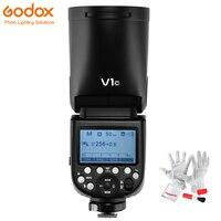 Предварительно продать Godox V1 вспышки света V1C V1N V1S круглая голова вспышки Speedlite ttl 1/8000 s HSS литиевых Батарея для sony Canon Nikon Камера