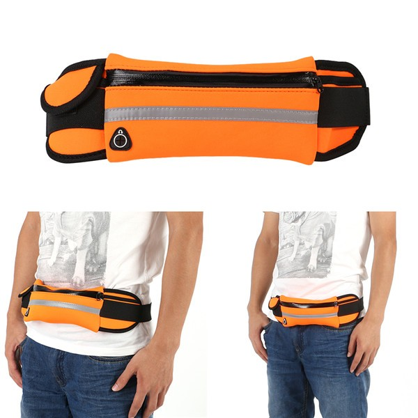 Hot Outdoor Running Waist Bags Men Women waist Packs Bags Unisex Sport Nylon Waistband for accessory men Small Travel Belt Bag 8
