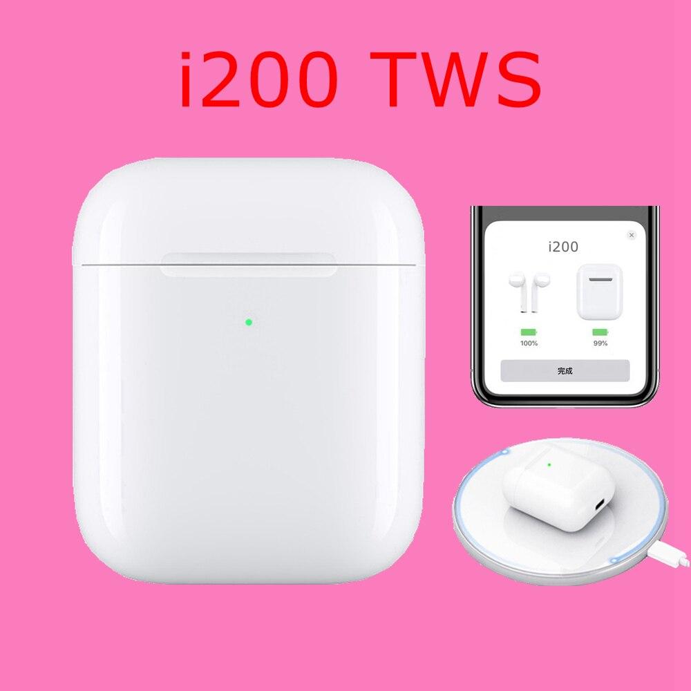 I200 TWS écouteurs Pop up fonction tactile sans fil Bluetooth 5.0 écouteurs sans fil charge PK w1 puce i12 i10 i100 i20 i80