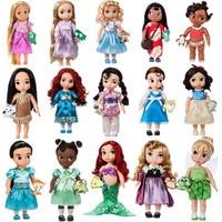 1pieces/lot 40cm big pvc edition belle cinderella princess rapunzel ariel doll Joints can move furnishing articles Girls toys