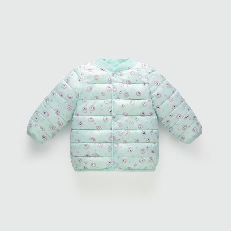 New Fashion Children Winter Jacket Girl Winter Coat kurtka zimowa dziewczynka floral print Baby Girl Warm Cotton Jacket for Boys